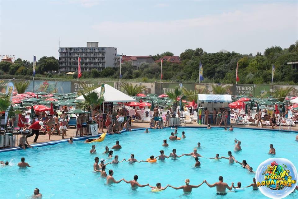 "(Foto) Se redeschide Eforie Aqua Park! ""Va invitam, doritori de balaceala, soare si distractie din toata tara"" 6"