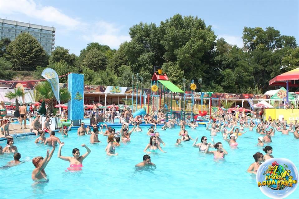 "(Foto) Se redeschide Eforie Aqua Park! ""Va invitam, doritori de balaceala, soare si distractie din toata tara"" 5"