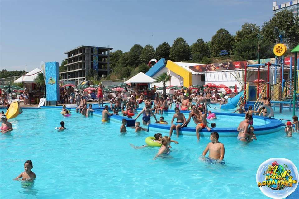 "(Foto) Se redeschide Eforie Aqua Park! ""Va invitam, doritori de balaceala, soare si distractie din toata tara"" 4"