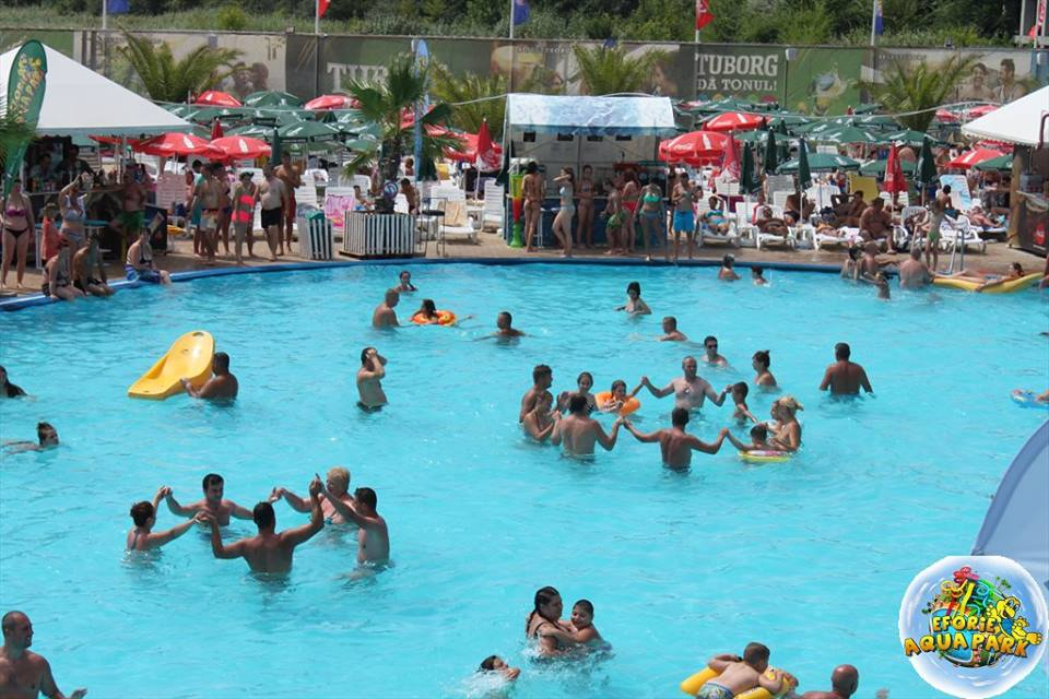 "(Foto) Se redeschide Eforie Aqua Park! ""Va invitam, doritori de balaceala, soare si distractie din toata tara"" 2"