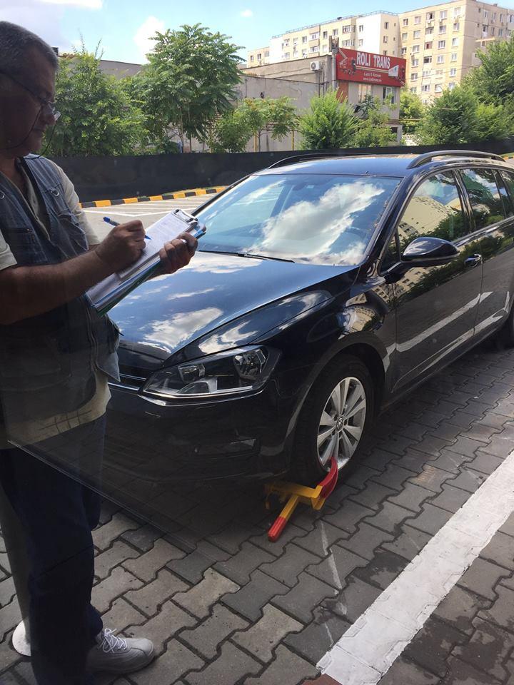 (Foto) Lidl și Mega Image blochează roțile în parcare. Vezi de ce: 2