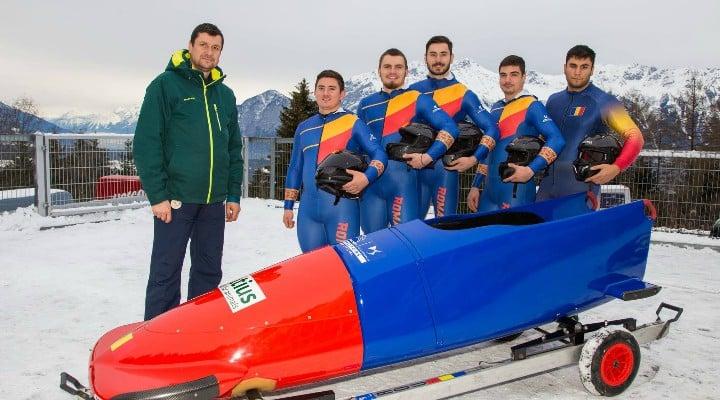 FELICITĂRI! România câștigă o medalie de aur la Campionatele Europene de bob 1