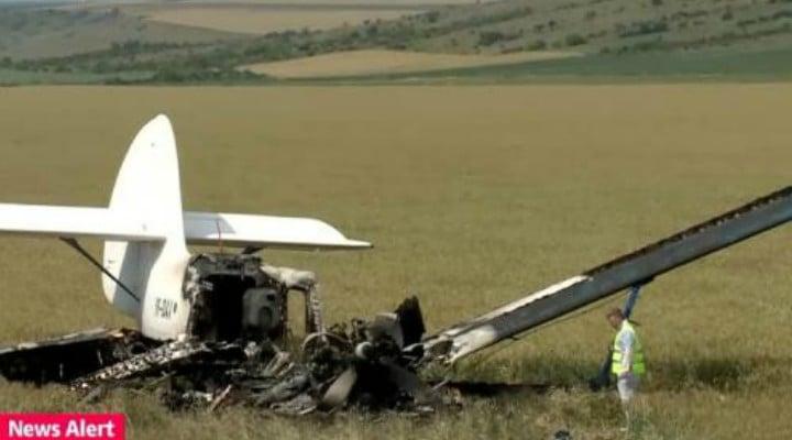 Un avion s-a prăbușit în Buzău. Două persoane au murit. Avionul a decolat de la Ghimbav 1