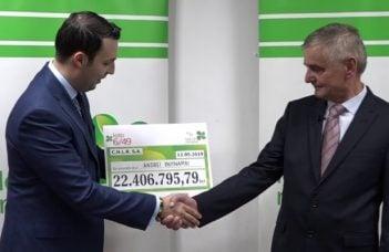 """(Video) Vezi cine este cel mai nou milionar în euro din România. A câștigat 4,7 milioane de euro la Loto 6/49. Andrei Butnariu: """"Cine face ca mine, ca mine să pățească!"""" 40"""