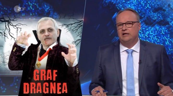 """(Video) Liviu Dragnea, ironizat la o televiziune germană. """"Vampirul"""" care ia banii orfanilor 1"""