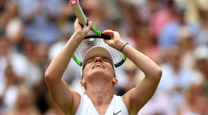 """Simona Halep laudata de Serena Williams: """"A jucat din altă lume. Felicitări, Simona. O jucătoare la acest nivel, trebuie să îți scoți pălăria în fața ei. Nu am avut ce să fac. Mă bucur de ..."""" 1"""