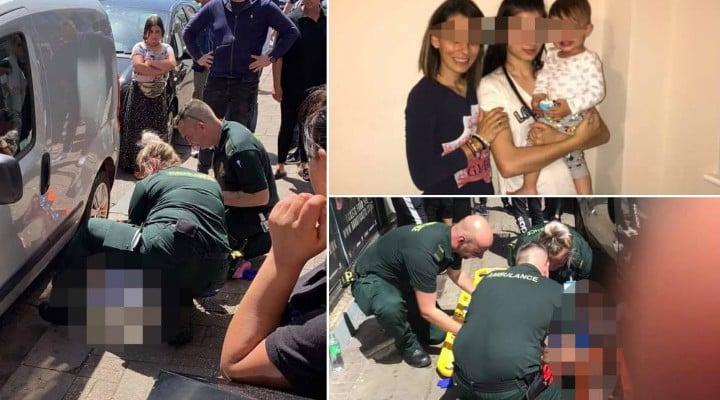 """Rareş, băieţelul român din Anglia căzut de la etaj, a fost salvat şi e din nou în braţele mamei. """"Din fericire eu și Alexandra Iorga care este antrenată in prim ajutor( First aid ⛑) am fost in câteva secunde lângă copilaș și am ajutat până la ..."""" 1"""