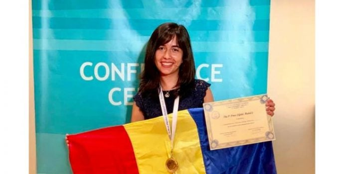FELICITARI! Medalie de AUR pentru Mălina Constantinescu la Olimpiada Balcanică de Fizică 11