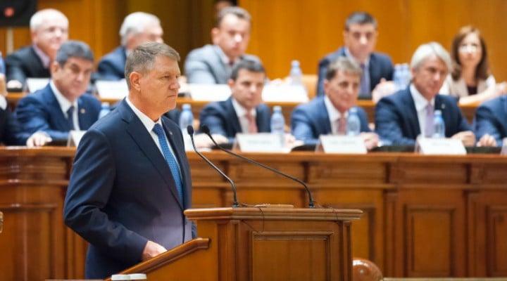 Klaus Iohannis merge luni în Parlament. Le va spune ceva lui Dragnea și Tăriceanu? 1