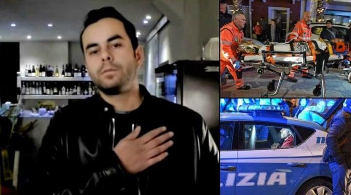 El este salvatorul Alinei, românca stropită cu acid şi înjunghiată în Italia. Mărturii din timpul atacului 1