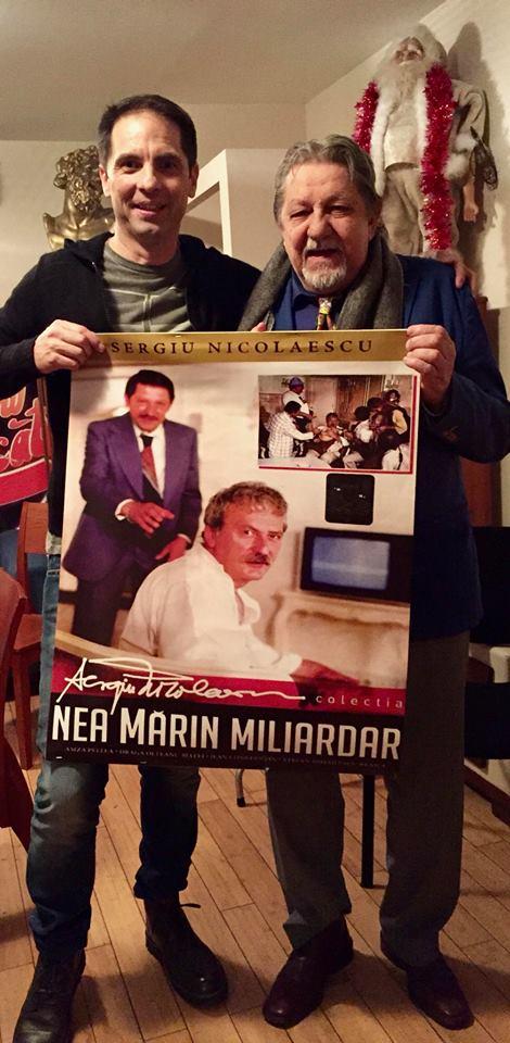 """Dan Negru: """" Acu', in februarie, """"Nea Marin Miliardar"""" face 39 de ani și rămâne cel mai urmărit film din istoria cinema românesc. Am filmat cu ..."""" 1"""