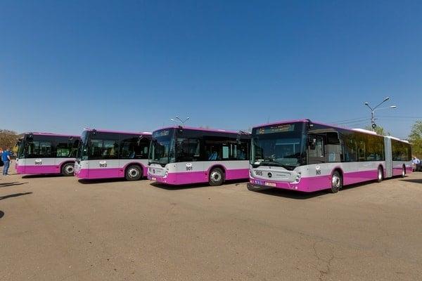 (Foto) Autobuze noi la București, Cluj și Brașov. Care sunt mai frumoase? 10