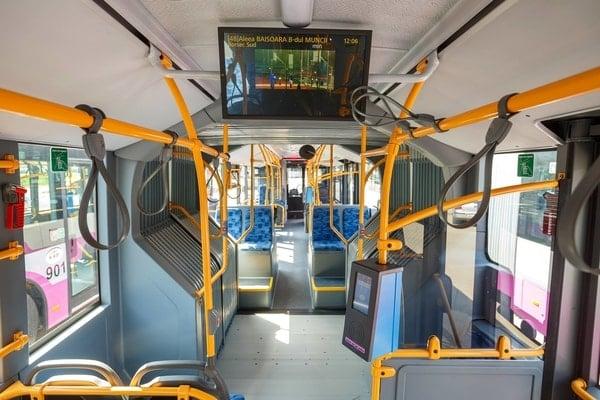 (Foto) Autobuze noi la București, Cluj și Brașov. Care sunt mai frumoase? 13