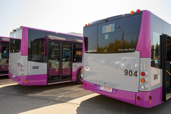 (Foto) Autobuze noi la București, Cluj și Brașov. Care sunt mai frumoase? 14