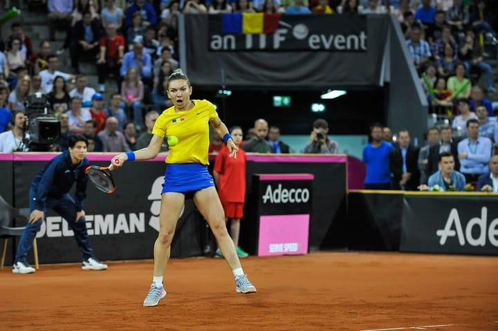 """Simona Halep s-a accidentat, a jucat tot meciul cu dureri dar atmosfera impresionantă de la Cluj a ținut-o în priză. """"Niciodată nu am trăit asemenea clipe pe teren. Am câştigat datorită publicului. A fost foarte greu să pot ..."""" 4"""