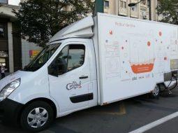 (Foto) Primul Duș Mobil din România a avut prima ieșire pe teren! 3