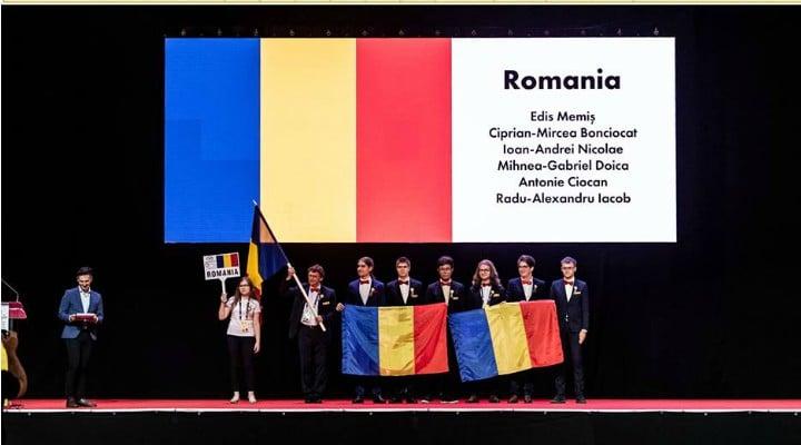 FELICITĂRI! România a obținut o medalie de aur, una de argint și două de bronz la Olimpiada Internațională de Matematică de la Cluj 1