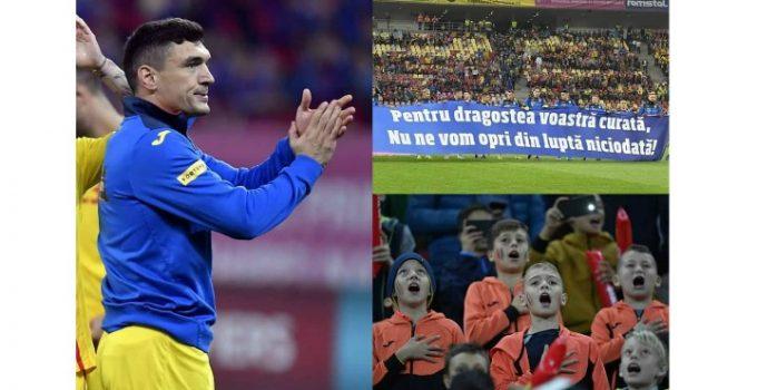 """Claudiu Keşerü: """"Va mulțumim, copii! Am trait poate unul dintre cele mai frumoase sentimente pe un stadion din toata viata mea.Am simtit..."""" 1"""