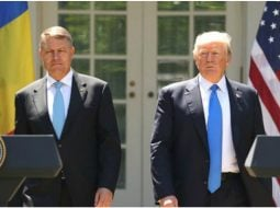 """Sebastian Lazaroiu: """"Dragnea, Tariceanu și Dăncilă, artizanii războiului cu statul au eșuat în toate incercările de legitimare prin partenerii occidentali...Iohannis merge acolo și e primit la cel mai inalt nivel, într-un moment de cotitură, în care asaltul iliberalismului pare a fi fost stopat. Nu sunt un fan al lui Trump, cum știți, dar aici nu e vorba de Trump, e vorba de ..."""" 2"""