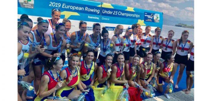 FELICITĂRI! Canotaj: România a cucerit 9 medalii de aur la Campionatele Europene Under 23 din Grecia 7