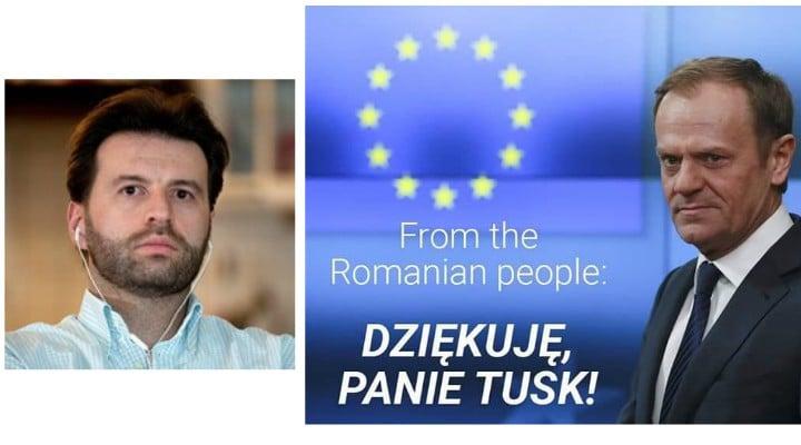 El este românul care i-a tradus discursul lui Donald Tusk. Dan Marasescu. Ce funcție are la Consiliul Europei 1