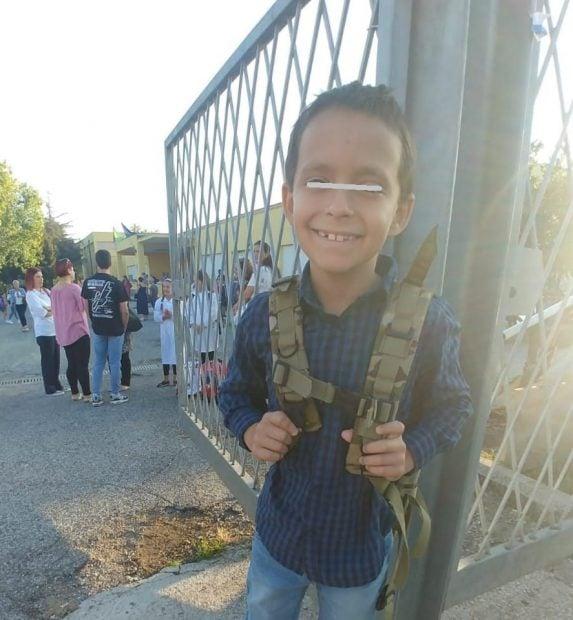 Băiețelul Magdei Vasiliu, vindecat de cancer, a început școala în Italia. Imaginea care a topit inimile tuturor 1