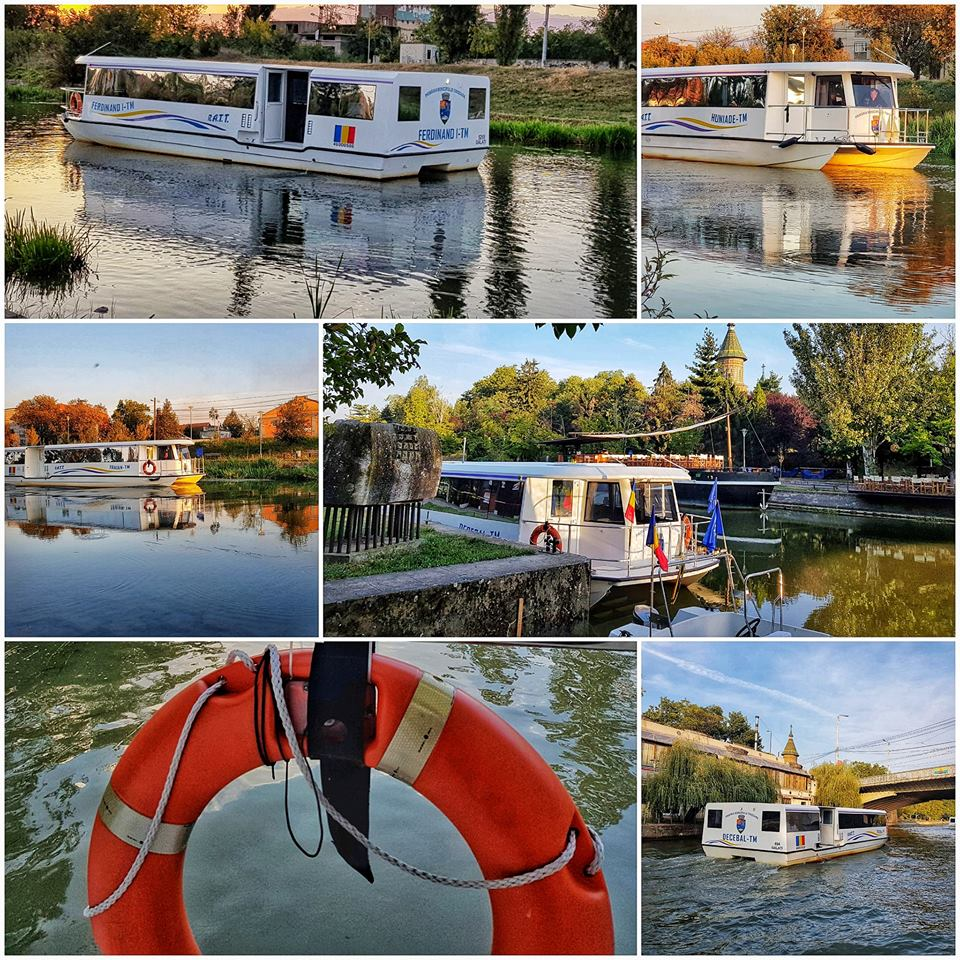 (Video)  Primul oraș din România cu Transport în Comun pe Apă. 1 leu călătoria cu vaporașul 2