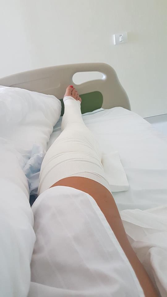 """(Foto) Carmen Brumă, pe patul de spital. De ce s-a operat vedeta. """"Din păcate anul acesta ..."""" 1"""