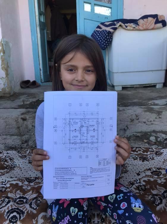 """(Foto) Casa Share: """"Roxana vroia să mănânce pâine cu piure și biscuți ! O să primească mai mult: o casă nouă până de Crăciun. Așa îl simt eu pe Dumnezeu în sufletul meu !!"""" 6"""