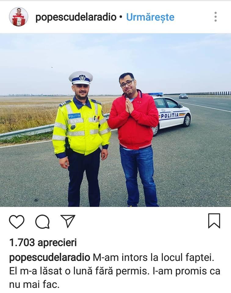 """Poliția Română: """"Moartea a reacționat la un clip video --- Oameni buni, opriți live-urile de la volan! Înțelegeți că nu ..."""" 2"""