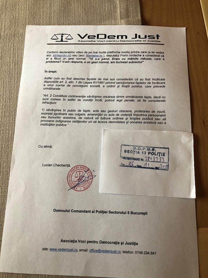 Plângere penală pentru Florin Iordache după gesturile obscene din Parlament, Ce pedeapsă poate primi 1