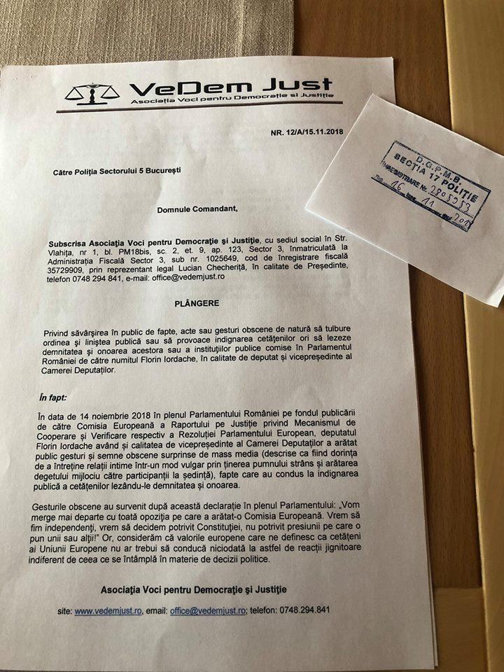 Plângere penală pentru Florin Iordache după gesturile obscene din Parlament, Ce pedeapsă poate primi 2