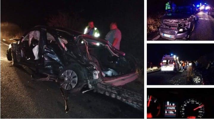 (Foto) Accident Groaznic.  Tânăr din România moare în timp ce face Live pe Facebook la 200 km/h. O fetiţă de 9 ani moare și ea nevinovată în tragedie. Alți 4 sunt răniți 1