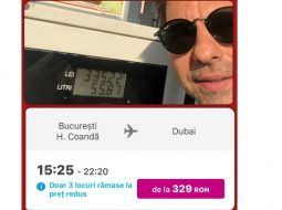 """Dan Negru: """"Am făcut un plin normal de motorină (50 l) si m-a costat 335 de Ron. Si am găsit un zbor cu avionul până-n Dubai care costă 329 RON.  Un plin de motorină in România costă cât un zbor in Dubai. De asta zic ..."""" 6"""