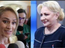 """Cearta mare, Viorica Dăncilă și Gabriela Firea, în ședința PSD. Ramona Avramescu: """"Colegii care sunt la CEX povestesc că țipetele din şedinţă se aud de pe holuri, ca în vremurile bune de dinainte să impună Dragnea dictatura. Miza e ..."""" 7"""