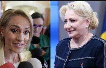 """Cearta mare, Viorica Dăncilă și Gabriela Firea, în ședința PSD. Ramona Avramescu: """"Colegii care sunt la CEX povestesc că țipetele din şedinţă se aud de pe holuri, ca în vremurile bune de dinainte să impună Dragnea dictatura. Miza e ..."""" 3"""
