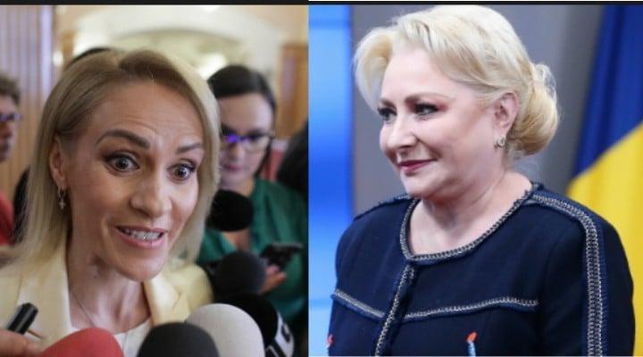 """Cearta mare, Viorica Dăncilă și Gabriela Firea, în ședința PSD. Ramona Avramescu: """"Colegii care sunt la CEX povestesc că țipetele din şedinţă se aud de pe holuri, ca în vremurile bune de dinainte să impună Dragnea dictatura. Miza e ..."""" 1"""