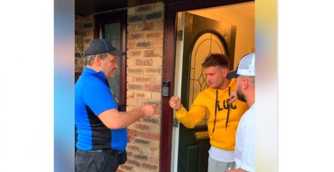 (Video) Român din Anglia, bacşiş de 1.000 de lire după ce a livrat o pizza. Clientul l-a pus la o provocare 25