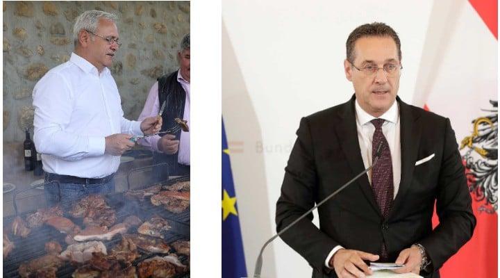"""România vs Austria, pentru că ei sunt mai proști. Emilian Isaila: """"Austria, dezvăluire în presă despre corupția vicepremierului, ieri, azi demisionează, iar premierul anunță alegeri anticipate. România, liderul partidului de guvernământ, un condamnat penal face grătare, visându-se președinte. Diferență de ani-lumină"""" 1"""