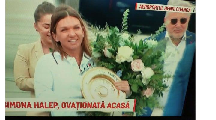 (Video) Simona Halep a revenit in România! Gabriela Firea ii organizează un eveniment la Arena Națională, la fel ca după câștigarea Roland Garros! 1