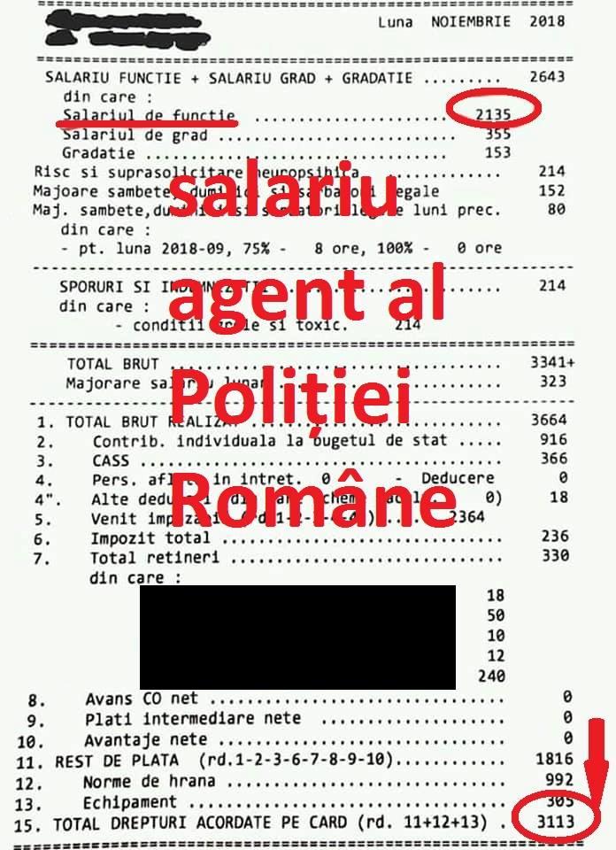 """Polițist din România, """"distrus"""" după ce a văzut fluturaşul de salariu al unui infirmier: """"Mi-am cumpărat o găleată cu mop şi cred că pun trusa criminalistică în cui. A propos, știe cineva când ..."""" 2"""