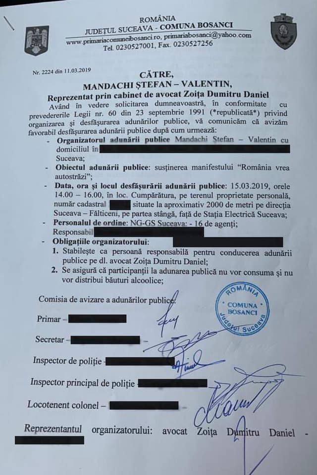 """Mergi? Ștefan Mandachi: """"Adresa exacta a Primului si singurului metru de autostradă... Toată manifestația este legală și autorizată! Vă rog din tot sufletul"""": 2"""