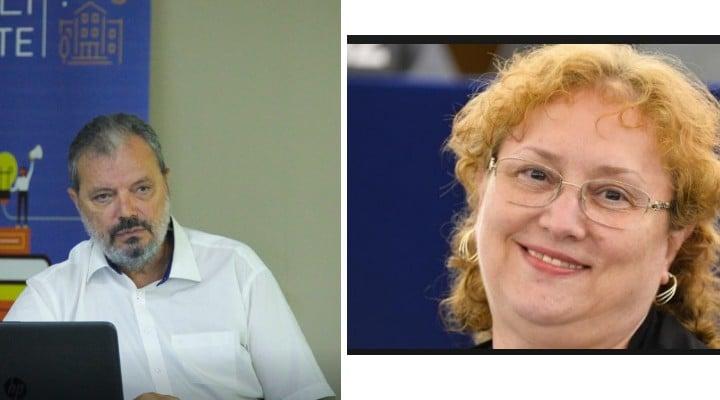 """Pe cine alegi, noul Avocat al Poporului? Eckstein-Kovács Péter (USR/PLUS/PNL) sau Renate Weber (ALDE/PSD). Radu Hossu: """"Victor Ciorbea a demisionat. Dacă Eckstein-Kovács Péter nu va deveni AP, iar în locul lui ..."""" 1"""