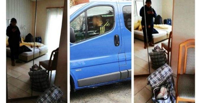 """7 români plecați la muncă în Germania, abandonați fără bani sau mâncare la marginea orașului Dortmund. 'Ni s-a spus să aşteptăm. Ce să aşteptăm nu ştim. Suntem în cameră la hotel. Ni s-a spus să ..."""" 9"""
