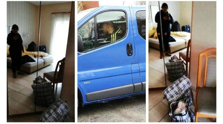 """7 români plecați la muncă în Germania, abandonați fără bani sau mâncare la marginea orașului Dortmund. 'Ni s-a spus să aşteptăm. Ce să aşteptăm nu ştim. Suntem în cameră la hotel. Ni s-a spus să ..."""" 1"""