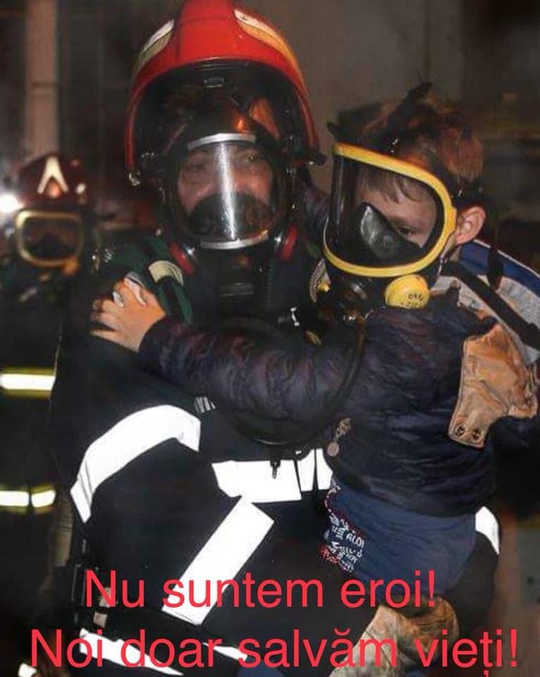 """Despre un Pompier erou de la ISU: """"Era vorba de un copil! Dacă nu intram, murea! Camera era plină de fum și tavanul cuprins de flăcări stătea să cadă! Putea să cadă peste el în orice moment! ...- Ești nebun! De acum încolo să te gândești că echipa asta are nevoie de tine, că soția ta și copilul tău au nevoie de tine! Câteva secunde au lipsit ca acum să nu te mai avem printre noi ..."""" 1"""