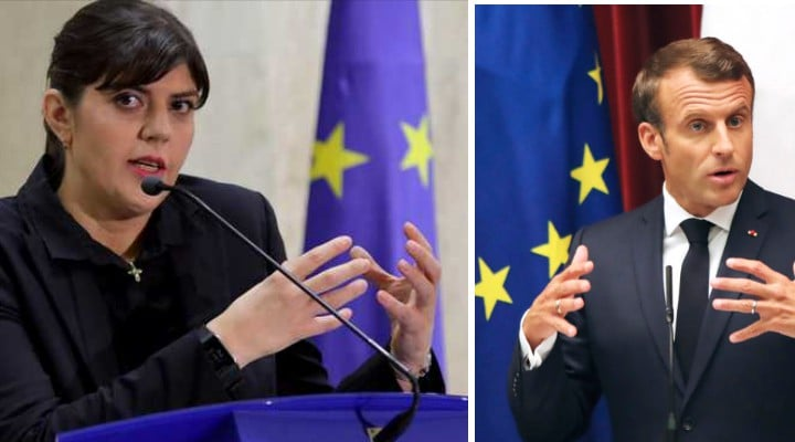 Kovesi sprijinită de președintele Franței? Cale deschisă pentru Kovesi la șefia Parchetului European? Contracandidatul său e în cărți pentru șefia DNA-ului francez 1