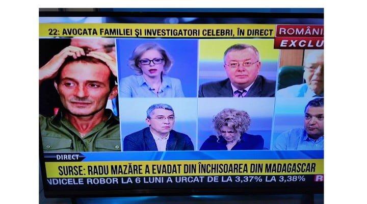 Update. Poliția Română, primele precizări despre Evadarea lui Radu Mazăre, prezentată de România TV 1