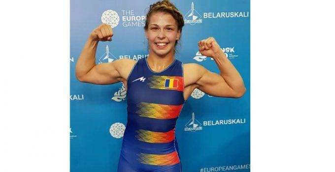 FELICITĂRI! Luptătoarea din România Kriszta Incze, medaliată cu bronz LA Jocurile Europene 2019 de la Minsk 3