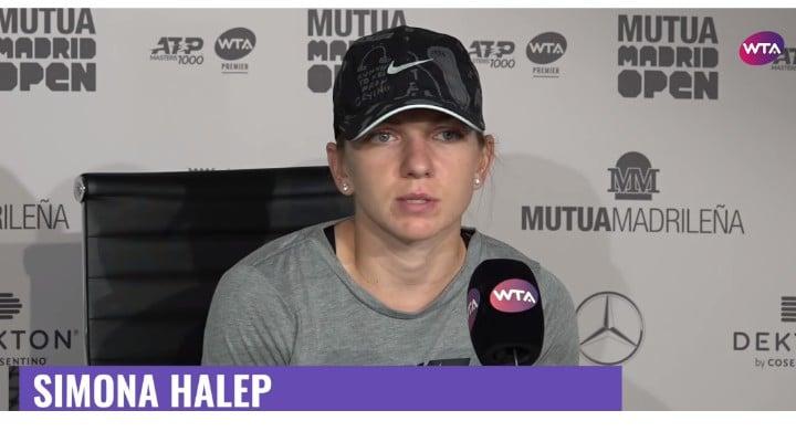"""Simona Halep: """"Am jucat ca o proastă! Am făcut tot ce i-a convenit ei. Eu am jucat greșit si sunt foarte supărată....Acum ma gândesc la..."""" 1"""